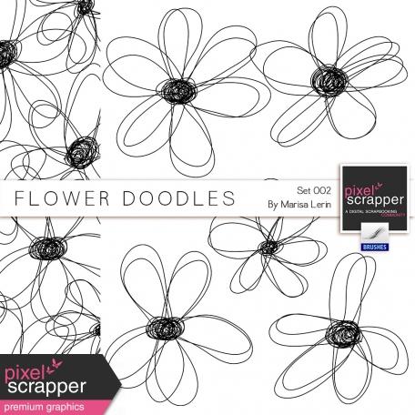 Flower Doodles #2 Kit