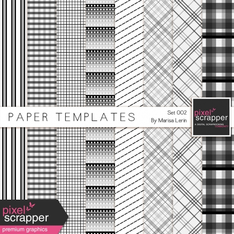 Paper Templates 002 Kit
