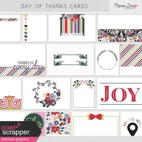 Day of Thanks Pocket Cards Kit
