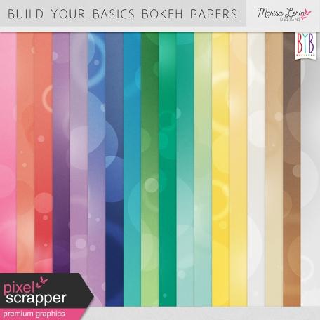 Build Your Basics Bokeh Papers Kit