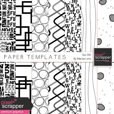 Paper Templates 010 Kit