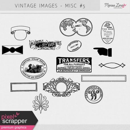 Vintage Images kit - Misc #5