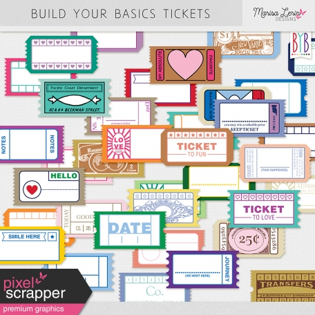 Build Your Basics Tickets Kit