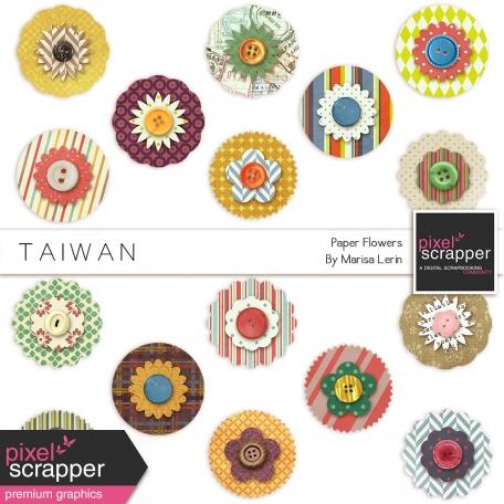 Taiwan Paper Flowers Kit