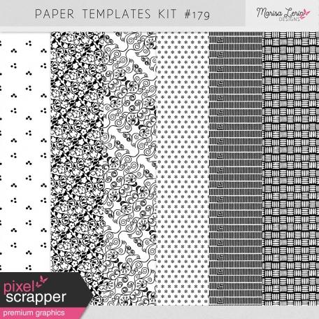 Paper Templates Kit #179