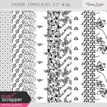 Paper Templates Kit #185