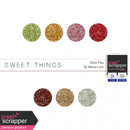 Sweet Things Glitters Kit