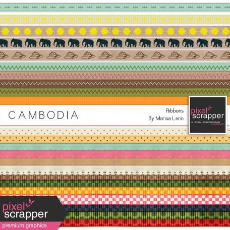 Cambodia Ribbons Kit