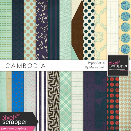 Cambodia Papers Kit #2