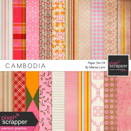 Cambodia Papers Kit #4