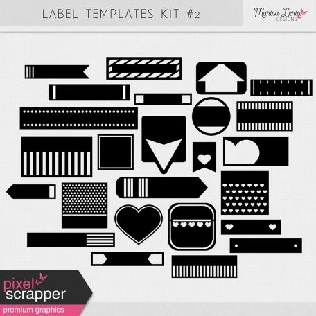 Label Templates Kit #2