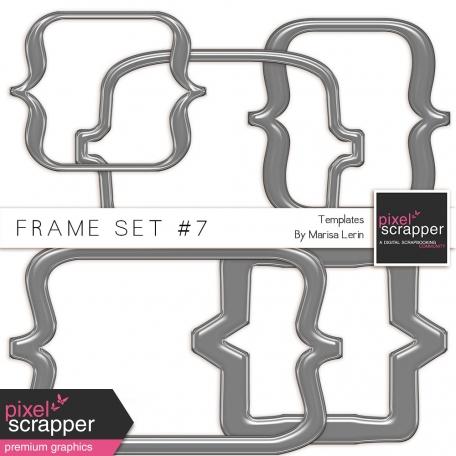 Frame Templates Kit #7 - Plastic Brackets