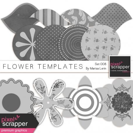 Flower Templates Kit #8