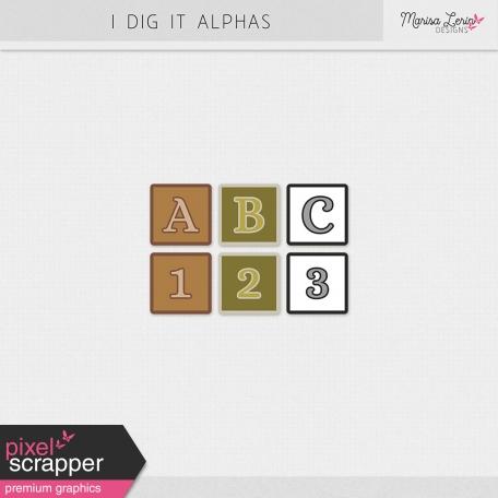I Dig It Alphas Kit