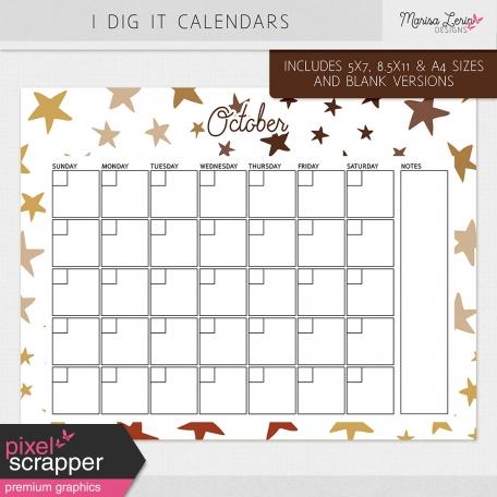 I Dig It Calendars Kit