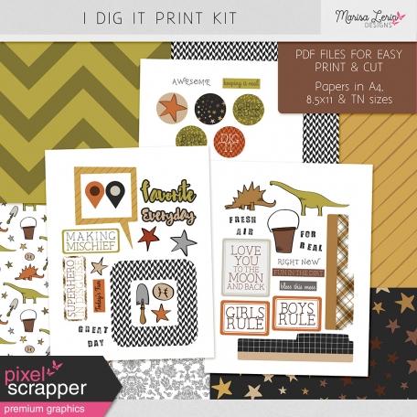 I Dig It Print Kit