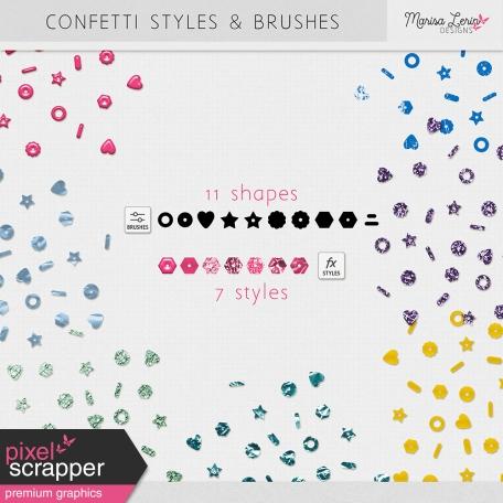 Confetti Brushes & Styles Kit