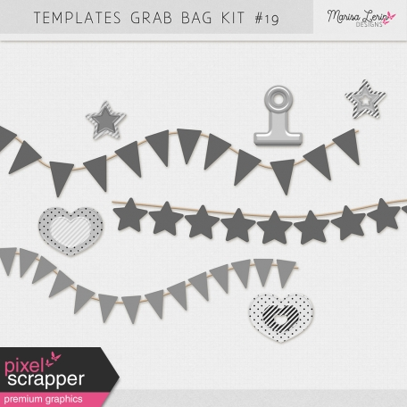 Templates Grab Bag Kit #19