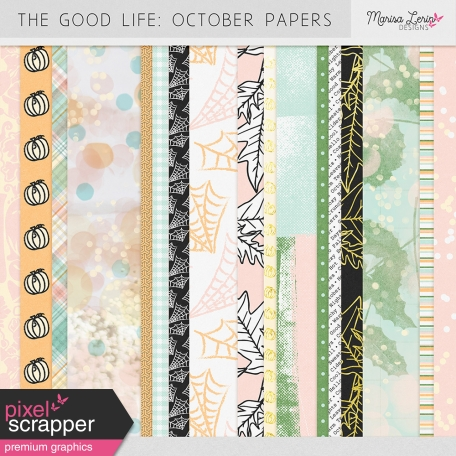 The Good Life: October Paper Kit