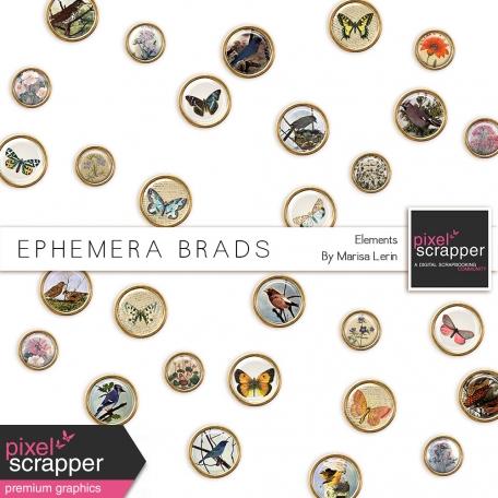 Ephemera Brads Kit