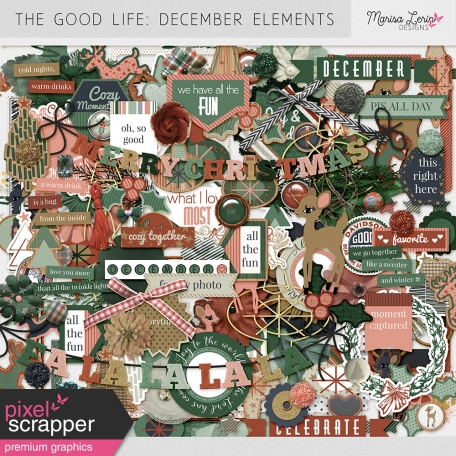 The Good Life: December Elements Kit