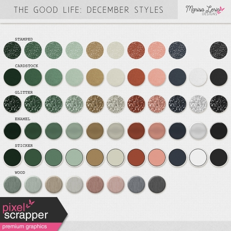 The Good Life: December Styles Kit