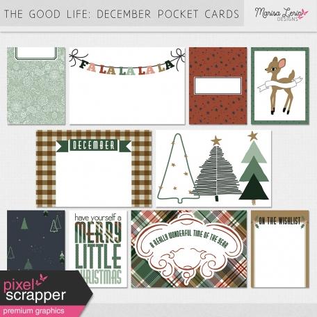 The Good Life: December Pocket Cards Kit