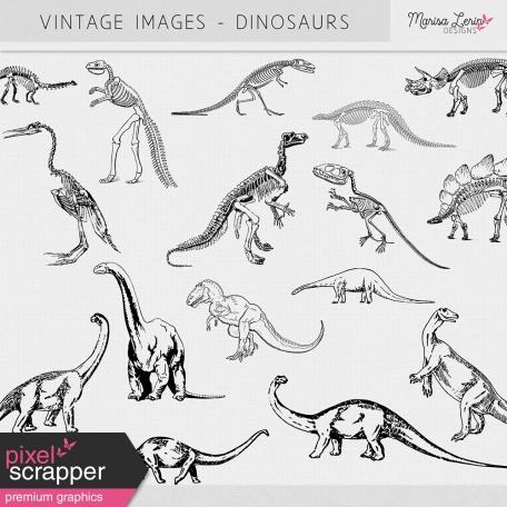 Vintage Images Kit - Dinosaurs