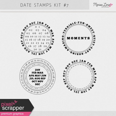 Date Stamps Kit #7
