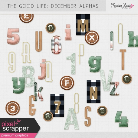 The Good Life: December Alphas Kit