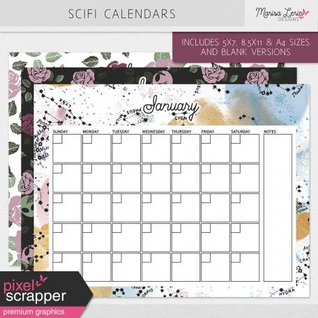 SciFi Calendars Kit
