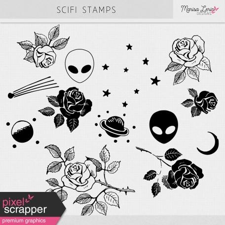 SciFi Stamps Kit