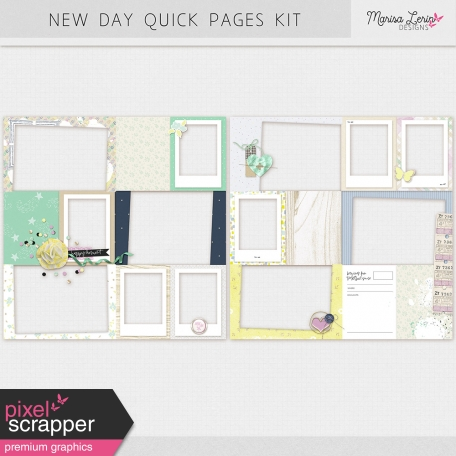 New Day Quick Pages Kit