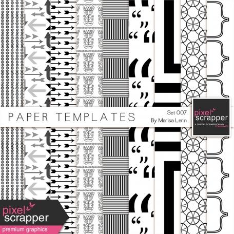 Paper Templates 007 Kit