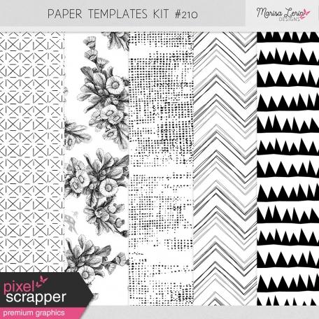 Paper Templates Kit #210