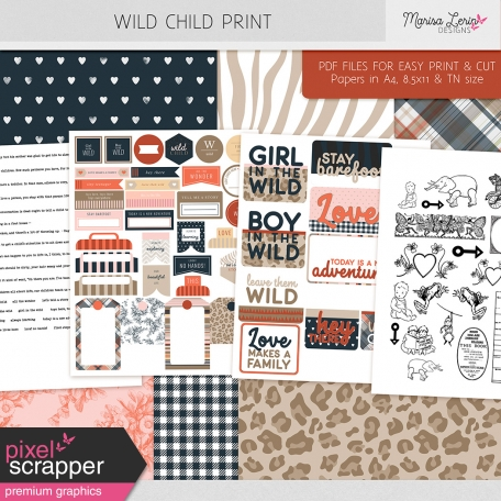 Wild Child Print Kit
