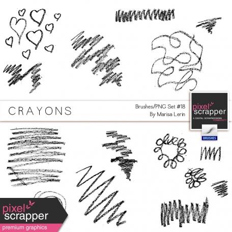 Brush Kit #18 - Crayons