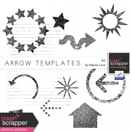 Arrow Templates Kit #3