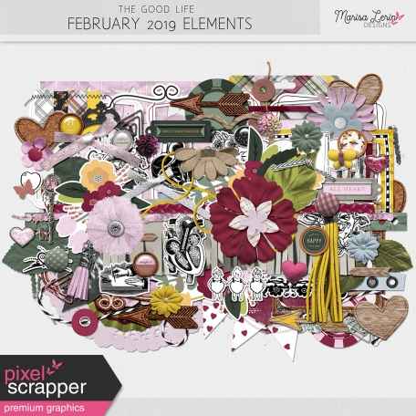 The Good Life: February 2019 Elements Kit