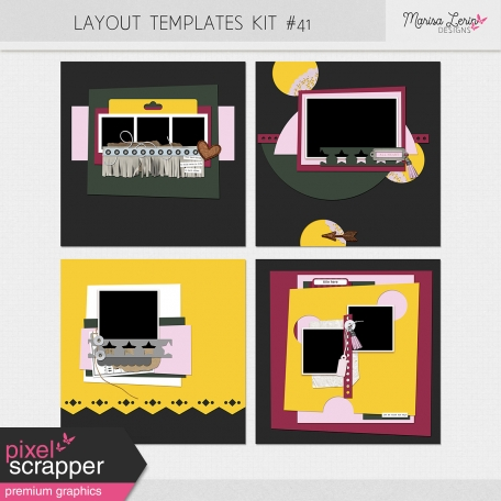 Layout Templates Kit #41
