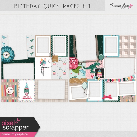 Birthday Quick Pages Kit
