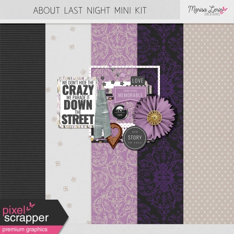 About Last Night Mini Kit