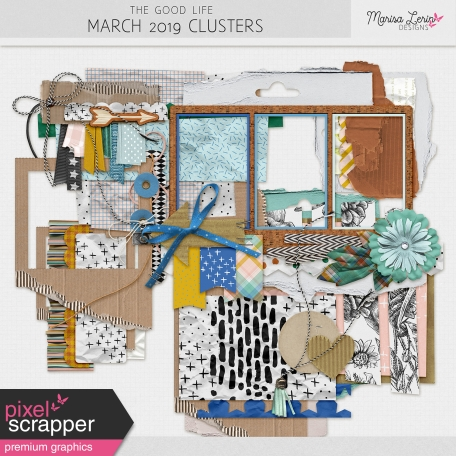 The Good Life: March 2019 Clusters Kit