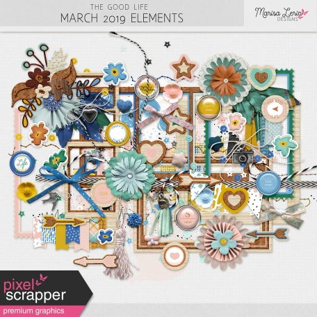 The Good Life: March 2019 Elements Kit