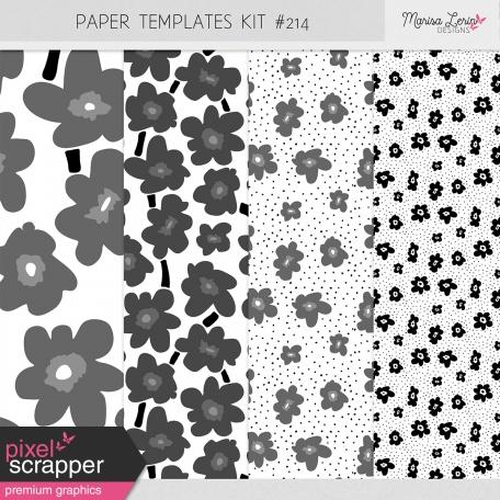 Paper Templates Kit #214
