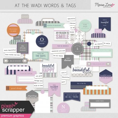 At The Wadi Words & Tags Kit
