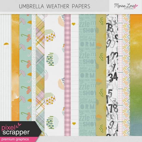 Umbrella Weather Papers Kit