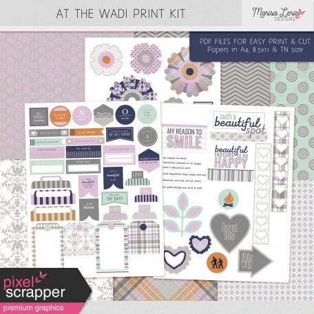 At the Wadi Print Kit
