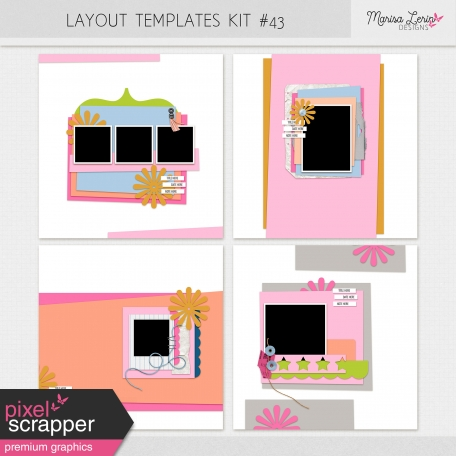 Layout Templates Kit #43