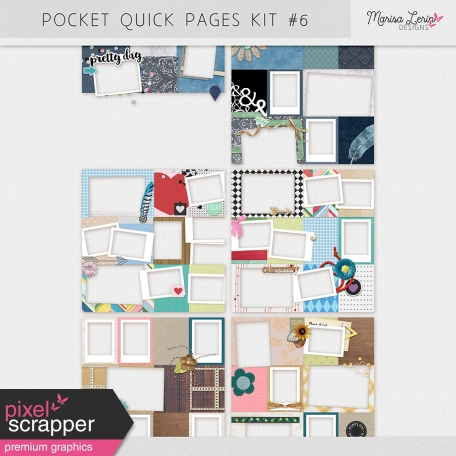 Pocket Quick Pages Kit #6